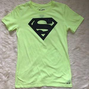 Superman Under Armour Top